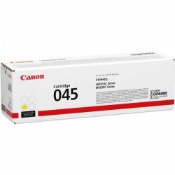Cartouche Toner Jaune CANON pour Imprimante Laser (N°045Y) - Capacité 1300 pages