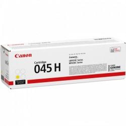 Cartouche Toner Jaune Haute Capacité CANON pour Imprimante Laser (N°045YH) - Capacité 2 200 pages