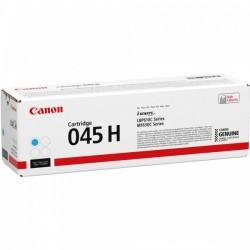Cartouche Toner Cyan Haute Capacité CANON pour Imprimante Laser (N°045CH) - Capacité 2 200 pages
