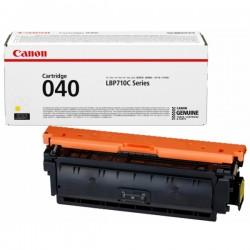 Cartouche Toner Jaune CANON pour Imprimante Laser (N°040Y) (CRG040Y) - Capacité 5 400 pages