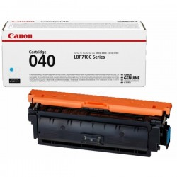 Cartouche Toner Cyan CANON pour Imprimante Laser (N°040C) (CRG040C) - Capacité 5 400 pages
