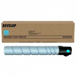 Toner Cyan Develop pour Ineo +454/+554 ... (TN-512C) (26 000 pages)