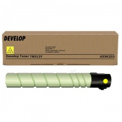 Toner Jaune Develop pour Ineo +454/+554 ... (TN-512Y) (26 000 pages)