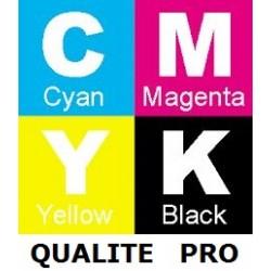 Pack de 4 Toners génériques qualité pro pour HP color laserjet 3800 / CP3505
