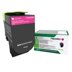 Toner Magenta Lexmark Return Program pour imprimante CS317dn/ Multifonction CX317dn