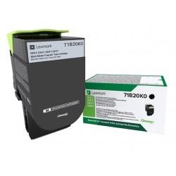 Toner Noir Lexmark Return Program pour imprimante CS317dn/ Multifonction CX317dn