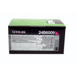 Cartouche de toner Magenta Lexmark pour C2132 - XC2130 - XC2132