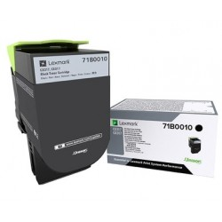 Toner Noir Lexmark pour imprimante CS317dn/ Multifonction CX317dn