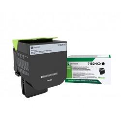 Toner Noir, rendement élevé, LEXMARK Return Program pour imprimante CS417dn/ Multifonction CX417dn
