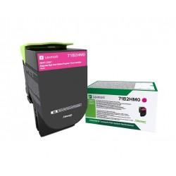 Toner Magenta, rendement élevé, LEXMARK Return Program pour imprimante CS417dn/ Multifonction CX417dn