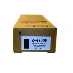 Cartouche d'encre noire Riso pour ComColor 3010, 7050, 9050 (S6300E)