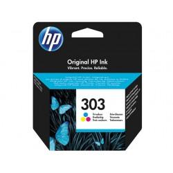 Cartouche d'encre couleur HP pour Envy Photo 6230, 7130, 7830 (N°303)