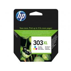 Cartouche d'encre couleur haute capacité HP pour Envy Photo 6230, 7130, 7830 (N°303XL) - 415 pages