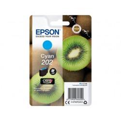 Cartouche Cyan Epson pour Expression Premium XP6000- XP6005 - (n°202 - Kiwi)