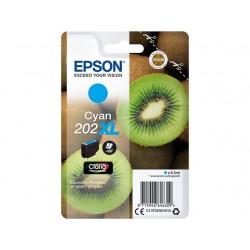 Cartouche Cyan XL Epson pour Expression Premium XP6000- XP6005 - (n°202XL - Kiwi)