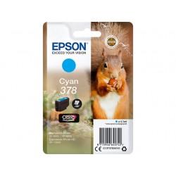 Cartouche Cyan Epson pour Expression Premium XP8500- XP8505 ... - (n°378 - Ecureuil)