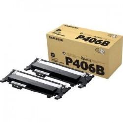Pack de 2 toners noirs Samsung pour CLP360 / CLP365 / CLX3300 ... (SU374A)