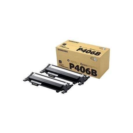 Pack de 2 toners noirs Samsung pour CLP360 / CLP365 / CLX3300 ...