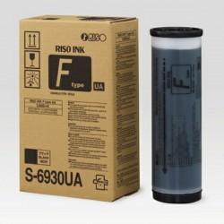 Lot de 2 Cartouches d'encre noire  pour Riso SF5030 (S6930E)