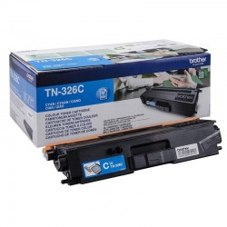 Toner Cyan haute capacité Brother pour HL-L8250CDN/ L8400CDN...(TN326C)