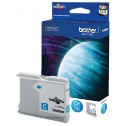 Cartouche cyan Brother LC970C pour DCP-135C / DCP150C / MFC235 / MFC260