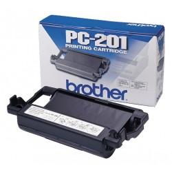 Ruban Thermique Brother pour Fax Noir PC-201
