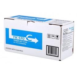 Toner cyan Kyocera Mita pour FS-C5400DN/ ECOSYS P7035CDN (TK570C) (1T02HGCEU0)