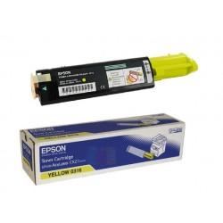 Toner jaune Epson pour Aculaser CX21N / CX21NF