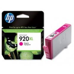Cartouche Encre magenta HP pour officejet 6500 ... (N°920XL)
