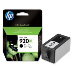 Cartouche Encre noire HP pour officejet 6500 ... (N°920XL)