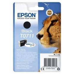 Cartouche d'encre noir Epson pour Stylus DX6050 / 4000 / 5000 (T0711)