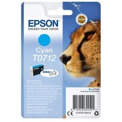 Cartouche d'encre cyan Epson pour Stylus DX6050 / 4000 / 5000 (T0712)