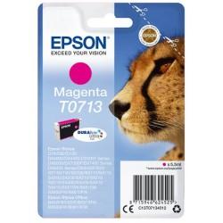 Cartouche d'encre magenta Epson pour Stylus DX6050 / 4000 / 5000 (T0713)