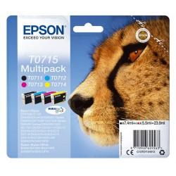 Multipack Epson T0715 pour Stylus DX6050 / 4000 / 5000