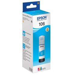 Cartouche Cyan Epson pour EcoTank ET-7700 (N°106)