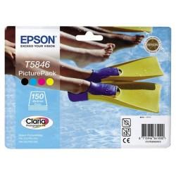 Pack photo Encre 4 Couleurs + 150 feuilles pour Epson PictureMate 10X15cm