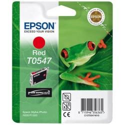Cartouche d'encre Epson T0547 Rouge