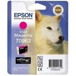 Cartouche Encre  EPSON UltraChrome K3 VM Magenta R2880 (T0963)