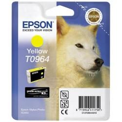 Cartouche Encre  EPSON UltraChrome K3 VM Jaune R2880 (T0964)