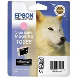 Cartouche Encre  EPSON UltraChrome K3 VM Magenta Clair R2880 (T0966)