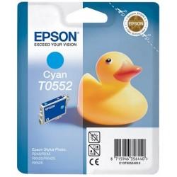 Cartouche d'encre Epson T0552 Cyan