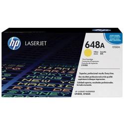 Toner jaune pour imprimante HP ColorLaserJet CP4025 / CP4525 (648A)