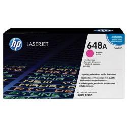 Toner magenta pour imprimante HP ColorLaserJet CP4025 / CP4525 (648A)