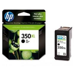 Cartouche d'encre noir XL HP pour Officejet J5780  (N°350XL)
