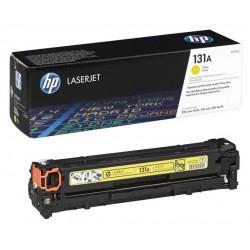 Toner jaune HP pour laserjet Pro 200 M276 / M251 ... (131A)