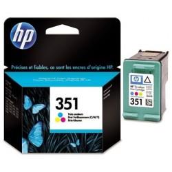 Cartouche d'encre couleur HP pour Officejet J5780 (N°351 / N°141)