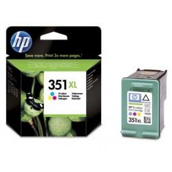 Cartouche d'encre couleur XL HP pour Officejet J5780 (N°351XL)