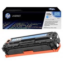 Toner cyan HP pour Colorlaserjet CP 1215 / 1515 / 1518 (125A)