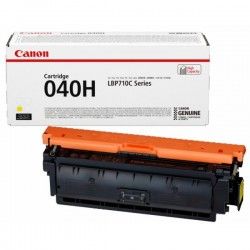 Cartouche Toner Jaune Haute Capacité CANON pour Imprimante Laser (N°040HY) - Capacité 10 000 pages