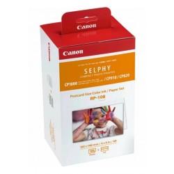 Cartouche + Papier RP-108 (papier photo) Canon pour Imprimante SELPHY